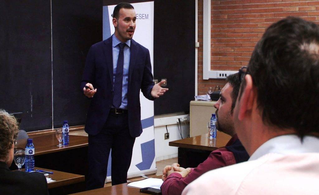 Rubén Montesinos liderando 1